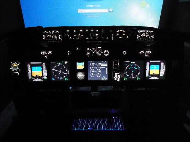 Meu projeto de Cockipt 737NG DSC00588