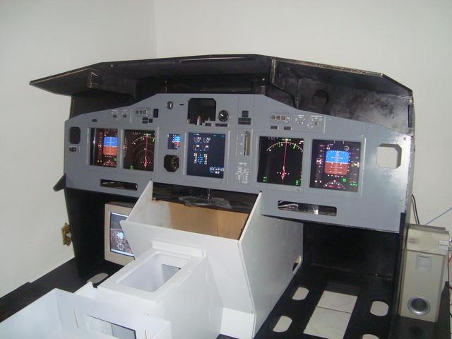 Meu projeto de Cockipt 737NG DSC06871